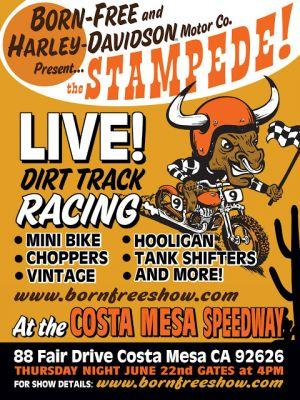 THE BF / H-D STAMPEDE IS IN JUST 11 DAYS