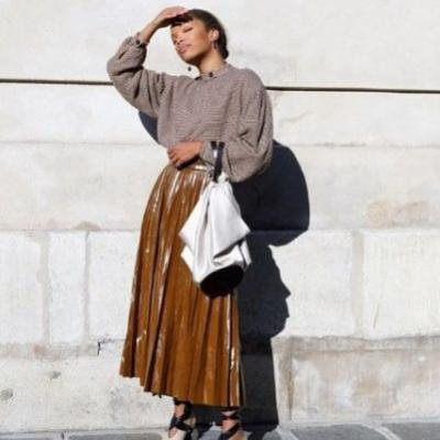 Our Favorite Long-Skirt Outfits for Winter