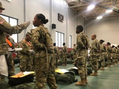 U.S. Army Delays New Recruits' Basic Training Due To Coronavirus