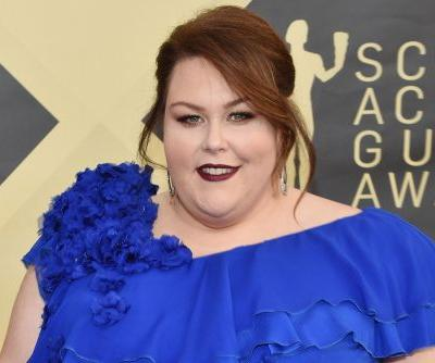 Chrissy Metz rocks $50K worth of diamonds at SAG Awards