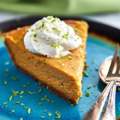 Key Lime Pumpkin Pie