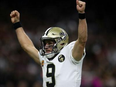Saints QB Drew Brees becomes NFL's all-time passing leader