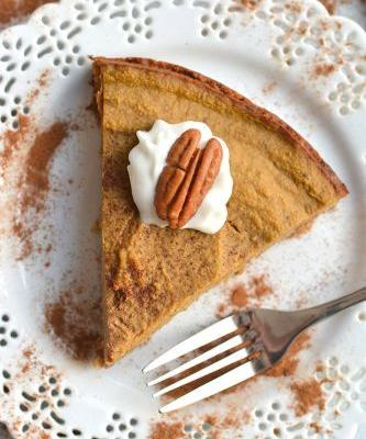 Skinny Pumpkin Pie {GF, Low Cal}