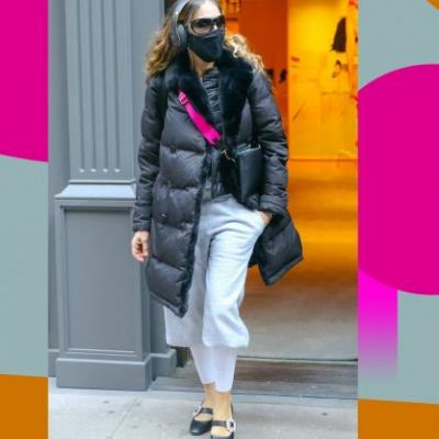 Sarah Jessica Parker Made Long Underwear Look Surprisingly Chic