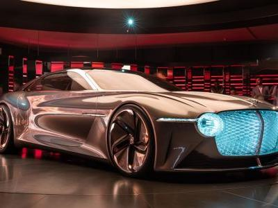 The Bentley EXP 100 GT Concept Has Just Won The Automotive Grille Game