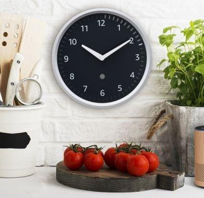 Amazon made a $30 wall clock with its Alexa assistant built in