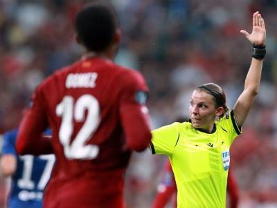 Frappart becomes first woman to ref UEFA men's final