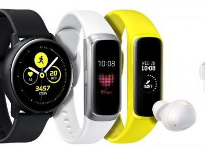 Samsung pushes into health wearables fray with newly announced smartwatches