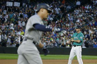 Judge nearly leaves yard in Yankees' 5-1 win over Mariners