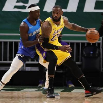 'I can care less about that': Lakers' LeBron James indifferent about defeating Bucks' Giannis Antetokounmpo