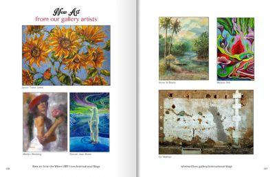 Melanie Birk in Where ART Lives Magazine