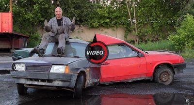 Of Course The Russians Made A Life-Size Fidget Spinner With Cars