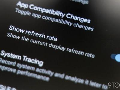 Android 11 DP1: New developer option shows your display's current refresh rate