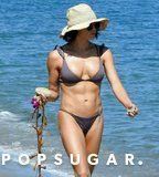 Jenna Dewan's Bikini Top? Delicate. Her Rock Hard Abs? The Complete Opposite