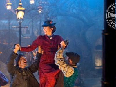 New Mary Poppins Returns Photo Dances in the Streets of London