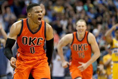 Russell Westbrook's buzzer-beating, crushing dagger caps history
