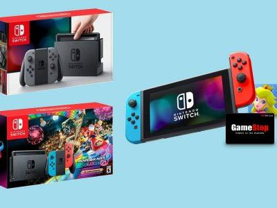 Best Nintendo Switch Cyber Monday deal is $85 worth of freebies