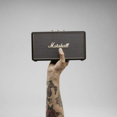 Listen in style with $60 off the Marshall Stockwell Bluetooth speaker