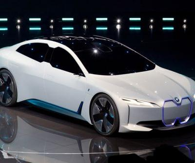 BMW Unveils Its Latest Electric Concept Car, the i Vision Dynamics