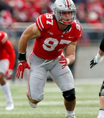 49ers pick Ohio State DE Nick Bosa as latest investment in defensive line