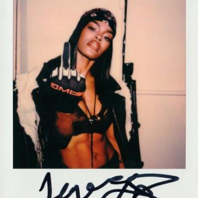 See backstage Polaroids of Alexander Wang's latest NY show