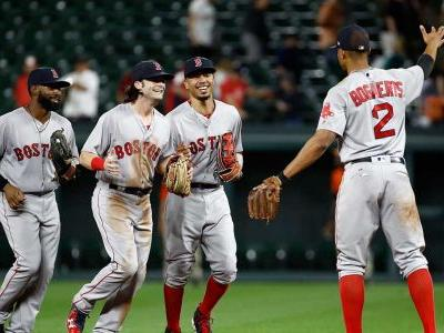 Bradley scores lone run on wild pitch as Red Sox down Orioles in 11