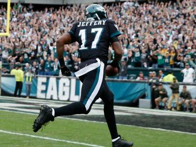 Eagles sign WR Alshon Jeffery to 4-year extension