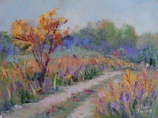 Color Ranch Road, New Contemporary Landscape by Sheri Jones