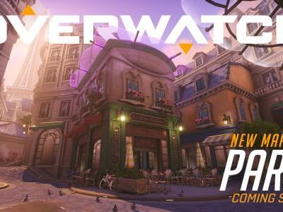 New Overwatch map Paris playable on the PTR
