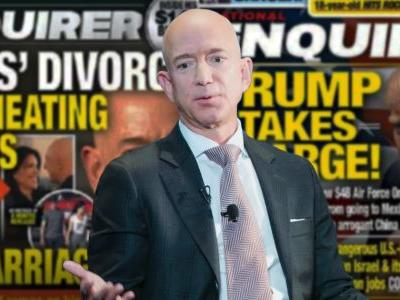 Trump-Friendly National Enquirer Secretly Tracked Trump-Foe Amazon CEO Bezos for Months