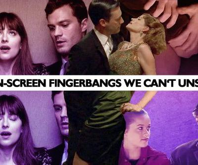 On-Screen Fingerbangs We Can't Unsee