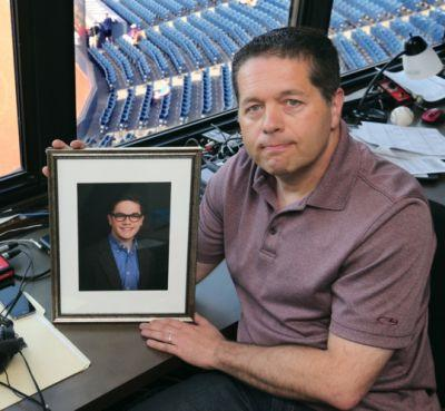 RubberDucks play-by-play announcer Dave Wilson and family to celebrate first Father's Day since tragic death of oldest son