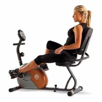Marcy Recumbent Exercise Bike with Resistance Giveaway