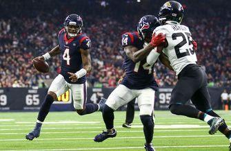 Jaguars fall 20-3, Texans clinch AFC South title