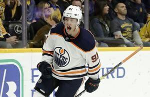 Draisaitl, Caggiula help Oilers end 13-game skid vs. Preds