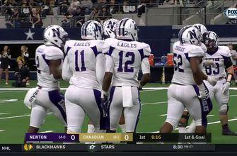 HIGHLIGHTS: Newton takes early lead over Canadian with touchdown run   UIL Texas State Football Championships