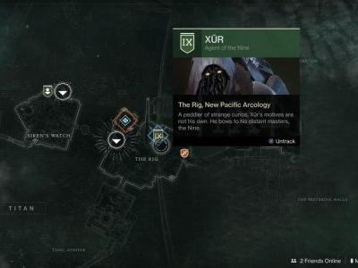 Destiny 2: Xur location and inventory, Invitations of the Nine - April 5-8