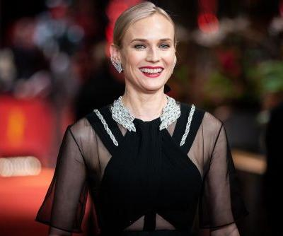 Diane Kruger proudly shows off abs four months after giving birth
