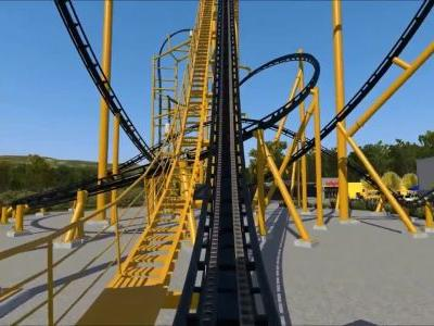 STEEL CURTAIN: Watch a video simulation of the new Steelers-inspired roller coaster coming to Pittsburgh