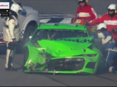 Another big Dayton 500 crash ends Danica Patrick's NASCAR career