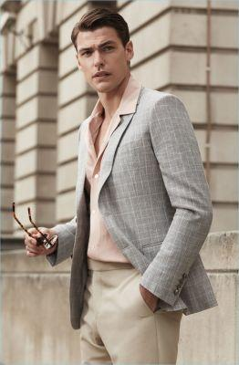 Event Ready: Filip Wolfe Dons Reiss' Dashing Summer Styles