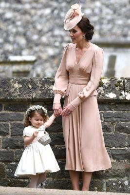 Kate Middleton Was Pretty in Pink at Pippa Middleton's