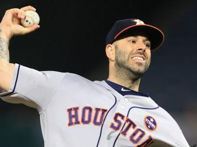 Astros' Mike Fiers suspended 5 games for throwing at Angels' Luis Valbuena