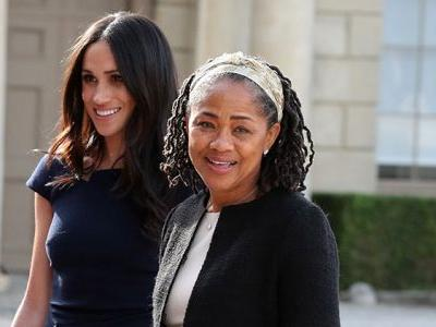 Queen Elizabeth Reportedly Invites Meghan Markle's Mom Doria Ragland To Christmas Dinner
