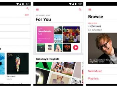Apple Music Support For Android Tablets Now Exits Beta