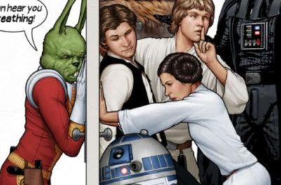 Jaxxon the Green Rabbit Is Now Part of Official Star Wars