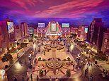 Warner Bros World an indoor theme park opens in Abu Dhabi