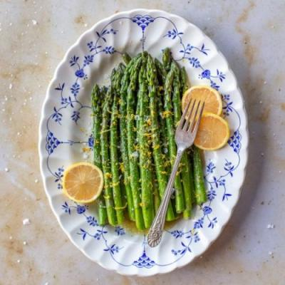 Pan Cooked Asparagus
