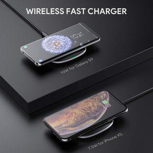 These two iPhone and Android-compatible Aukey wireless chargers are insanely cheap right now