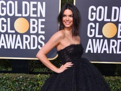 Kendall Jenner Attended the Golden Globes Because of Her Timeless Pepsi Commercial Acting, Obvs